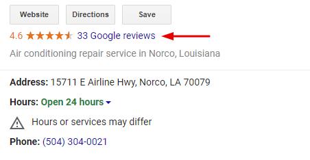 Google Reviews Management