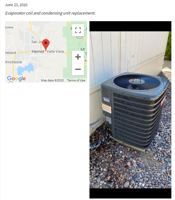 HVAC Check-in