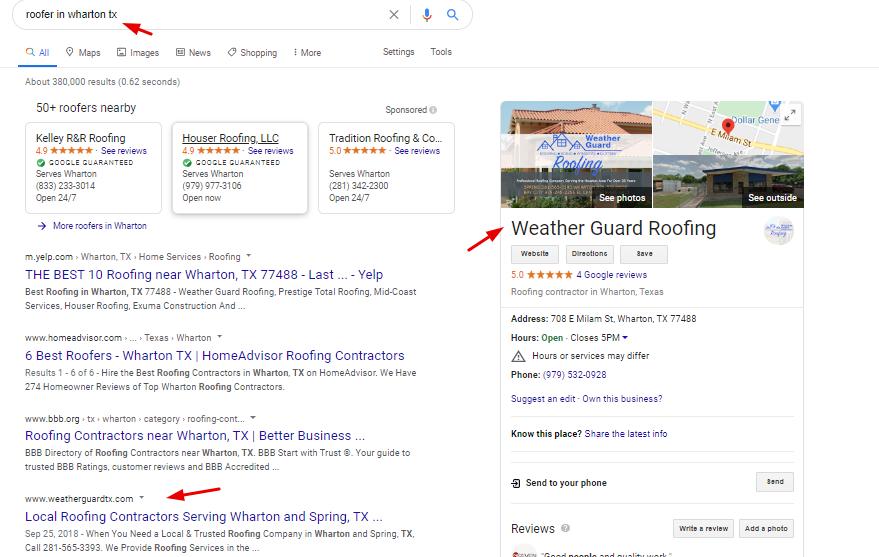 Local Ranking Screenshot