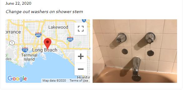 Plumbing Check-in
