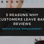 Reasons Why Customers Leave Bad Reviews Cover