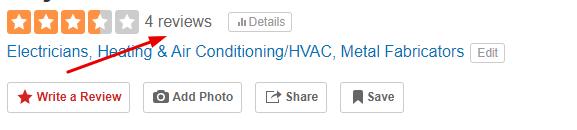 Yelp Reviews Management